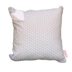 Hearts Range Grey / Grey Dot - Scatter Cushion
