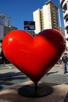 Street Art Heart...