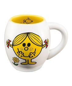 Love this Little Miss Sunshine Oval Mug on #zulily! #zulilyfinds