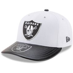 new arrival a20cd 37ecd New Era Oakland Raiders Low Profile 2017 Draft 59FIFTY Cap ( 40) ❤ liked on