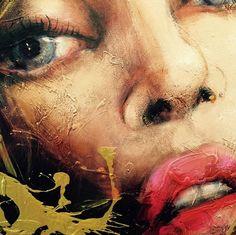 Super belle toile de Corno Pop Art, Painting Collage, Paintings, Historical Art, Portrait Art, Face Art, Art Techniques, Figurative Art, Art World
