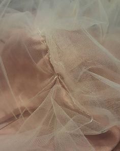 Wedding dress sewing! Ahhh! #wedding #marriage #weddingdress #engagement #diy #diyweddingdress
