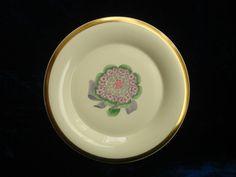 Assiette plate Rouard décor main Marcel Goupy porcelaine Haviland Limoges