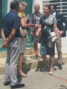 Crown Princess Victoria and Prince Daniel visit Colombia