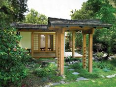 Asian Teahouse/Meditation Room by HartmanBaldwin Design/Build