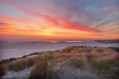 Sunset Zeebrugge