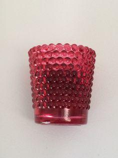 Vintage Honeycomb Votive by TwoFireflys on Etsy