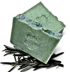 Castile Soap - Rosemary Mint Soap - Olive Oil Castile Soap - French Milled Soap - Vegan. http://creativehandmaderichard.blogspot.com
