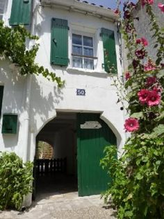 Location vacances maison La Couarde sur Mer: Façade
