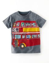 London Logo T-shirt (Slate/Bus)