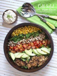 Vegan Cobb Salad from Baconish by Leinana Two Moons
