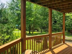 Vacation RentalWelcome to Sunrise Pines & stay comfort and relaxation! This 3 BR sleeps up to 8 people! This rental features two floors, ma. Outdoor Pool, Outdoor Decor, Rental Homes, Real Estate Broker, Second Floor, Floors, Pine, Sunrise, Deck