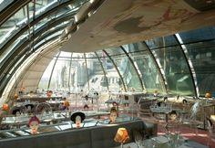#SergeFerrari Soltis 92, #KongBar, #Paris  Architects: Jean-Jacques Ory Studio d'Architecture