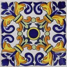 Ravenna - Handpainted Terra Nova Ceramic Tile