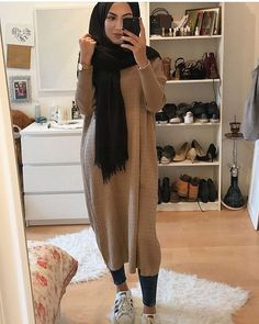Fashion Nuriyah O Martinez Likes, 5 Comments 5 hijab styles - Hijab Modern Hijab Fashion, Street Hijab Fashion, Hijab Fashion Inspiration, Islamic Fashion, Muslim Fashion, Mode Inspiration, Modest Fashion, Modest Clothing, Modest Outfits Muslim