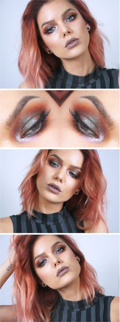 New Makeup Tutorial Ojos Eyeshadows Linda Hallberg 41 Ideas Linda Hallberg, Cute Makeup, Beauty Makeup, Hair Makeup, Make-up Box, Beauty Makeover, Makeup Guide, Makeup Ideas, Magical Makeup