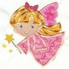 Angel 6 - 2 Sizes! | Angels | Machine Embroidery Designs | SWAKembroidery.com Designs by Juju