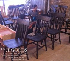 #Woodworking is a passion that requires patience skills and attention to details. We produce & supply dining chairs made of #TeakWood in retro vintage scandinavian style. Browse our #furniture collection on www.jeparagoods.com.  #cafechair #retrochair #vintagechair #scandinavianchair #danishchair #kursicafe #teakchair #IndonesiaFurniture
