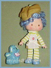 Huckleberry pie doll | Recycled Toys: Strawberry Shortcake Dolls