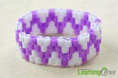 Finish perler bead bracelet