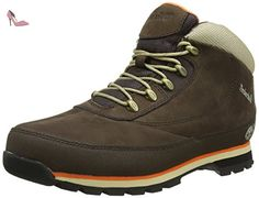 Timberland Euro Brook, Boots homme - Marron (Brown), 42 EU (8 UK) (8.5 US) - Chaussures timberland (*Partner-Link)