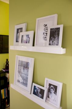Target Wall Frames wall ideas using ledge frames | wall ledge decorating ideas | home