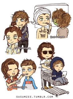 Not a Larry shipper but this is adorable!
