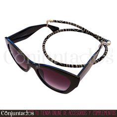 Irresistible #cordón para #gafas #unisex #étnico - Modelo #Manhattan ★ 5,95 € en http://www.conjuntados.com/es/otros/cordones-para-gafas.html ★ #novedades #cuelgagafas #eyewear #sunglasses #gafasdesol #cord #lowcost #fashion #moda #mode #blog #blogger #cotton #algodon #conjuntados #conjuntada #accesorios #complementos #fashionadicct #picoftheday #estilo #style #GustosParaTodas #ParaTodosLosGustos