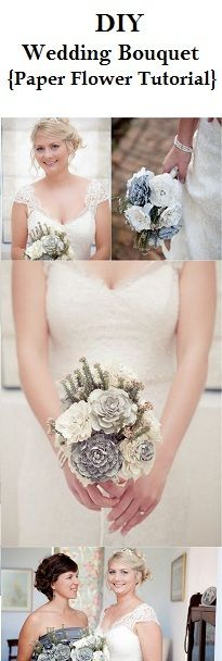 Learn how to create oh-so pretty Paper Ranunculus Flowers for your bridal bouquet
