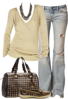 """Untitled #41"" by partywithgatsby on Polyvore. Don't like the leopard print shoe"