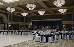 A beautiful shot of our Crystal Ballroom