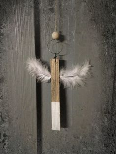 DIY Engel aus Holz / Anleitung auf meiner Pinnwand DIY Turorials