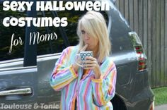 """Interview with Suzanne Fleet of Toulouse and Tonic about her Sexy Halloween Costumes for Moms viral post on The Stir. 10/31/14 Every Halloween, thousands of moms climb the front steps of porches around the country with their kids only to be asked, """"What are you dressed as..."""