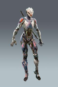 Rebirth: Cyborg Ninja by adijin.deviantart.com on @deviantART