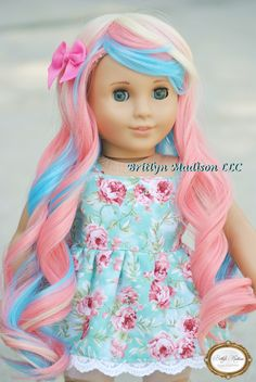 Candy~ Custom American Girl doll by Britlyn Madison Doll Clothes