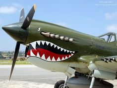 This is probably the most famous nose art of the war, though it wasn't on a bomber, and wasn't unique to an individual plane.