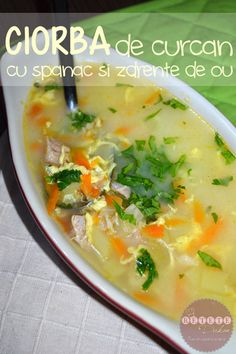 Romanian Food, Healthy Recipes, Healthy Food, Cheeseburger Chowder, Food And Drink, Soup, Cooking, Ethnic Recipes, Healthy Foods