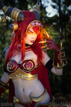 Alexstrasza Cosplay from World of Warcraft ! by KawaiiTine