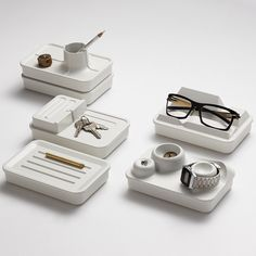 Danzo Landscape Desk Organisers from £30  I love these!!!!! omg!!!!!! such cool and unique forms