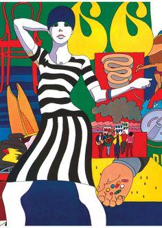Milton Glaser | Design Tshirts Store graniph