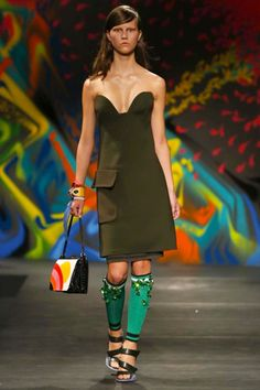 Prada Ready To Wear Spring Summer 2014 Milan - NOWFASHION