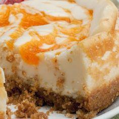 Ameretto Peach Cheesecake