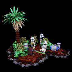 Lego Games, Lego Toys, Star Wars Clone Wars, Lego Star Wars, Lego Custom Clones, Big Lego, Lego Models, Lego Projects, Lego Creations