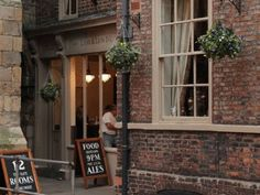 The Lamb and Lion Inn serves a wide range of real ales and is in close proximity to York Minster.