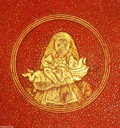 1870 1st American Ed ALICE IN WONDERLAND Lewis Carroll TENNIEL Childrens FANTASY