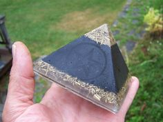 Reiki Infused Orgonite Pyramid.