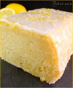 Vegan lemon cake no eggs no milk no butter Pearl sugar Vegan Lemon Cake, Vegan Cake, Homemade Cake Recipes, Pound Cake Recipes, Cupcake Recipes, Vegan Dessert Recipes, Snack Recipes, Desserts Without Eggs, Gateaux Vegan