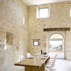 House Renovation In Treia, Italy by Wespi de Meuron Architects