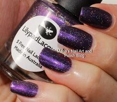 Marias Nail Art and Polish Blog: Lilypad Lacquer Merlot For Me