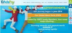 10 Ads Pay is an advertising revenue sharing platform. Investing in such a company is always risky and you should evaluate every detail. Can this program survive?